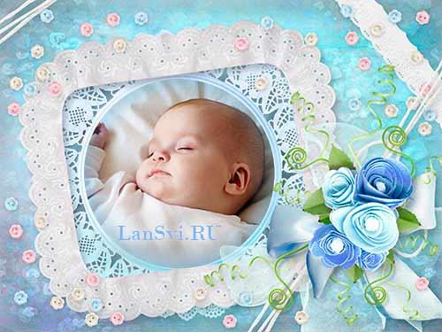 Фотоальбом для новорожденного детские фотоальбомы
